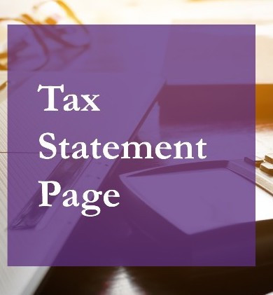 New tax statement page now available